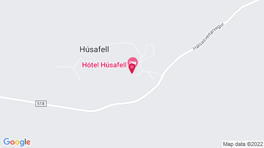 Hotel Husafell Map