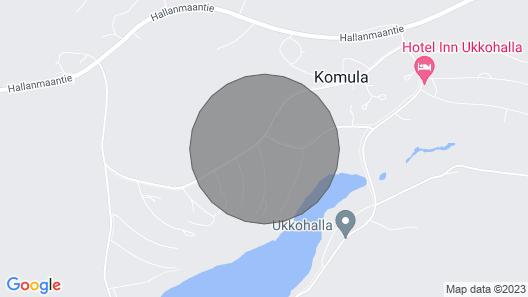 Vacation Home Luppohalla Mökki in Hyrynsalmi - 6 Persons, 2 Bedrooms Map