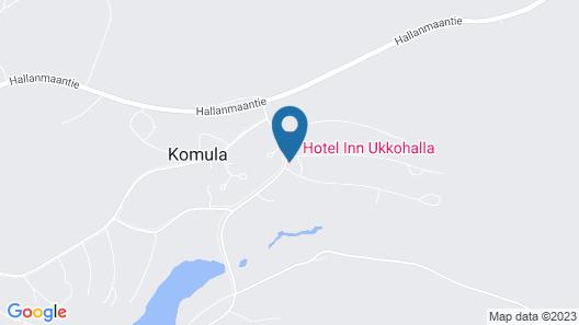Hotel Inn Ukkohalla Map