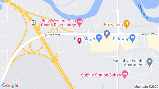 Extended Stay America Suites Fairbanks Old Airport Way Map