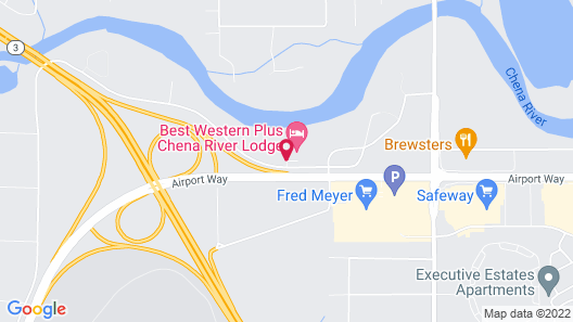 Best Western Plus Chena River Lodge Map