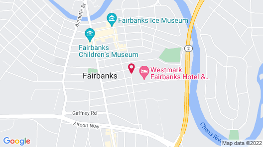Westmark Fairbanks Hotel & Conference Center Map
