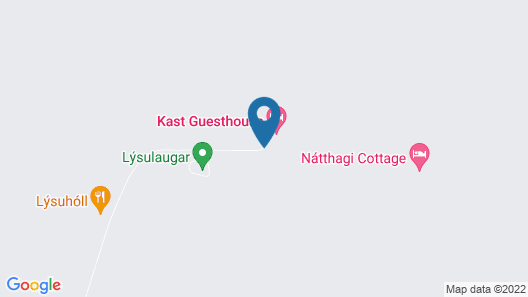 Kast Guesthouse Map