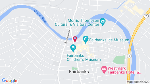 Springhill Suites by Marriott Fairbanks Map