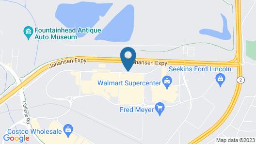 Hampton Inn & Suites Fairbanks Map