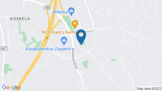 Forenom Aparthotel Kempele Map