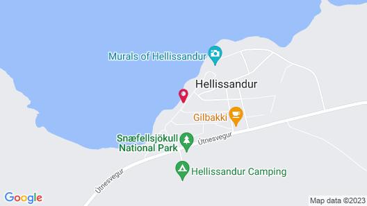 Götuhús Map