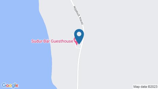 Suður-Bár Guesthouse Map
