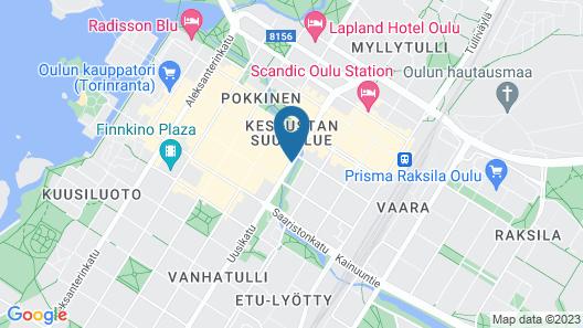 Forenom Aparthotel Oulu Map