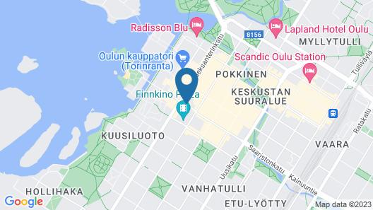 Scandic Oulu City Map