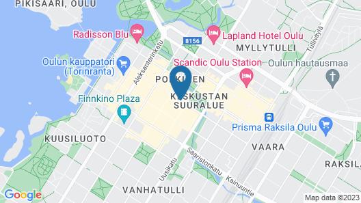 Original Sokos Hotel Arina Map