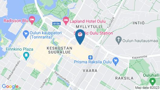 Scandic Oulu Station Map