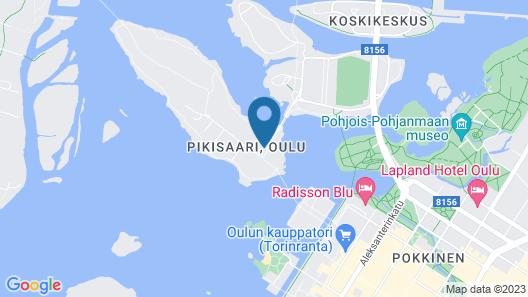 Pikisaari Guesthouse Map