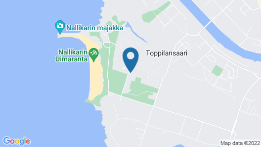 Nallikari Holiday Village Cottages Map