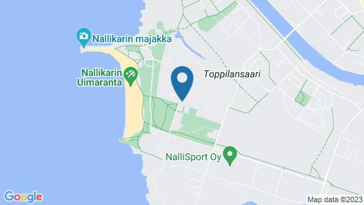 Nallikari Holiday Village Villas Map