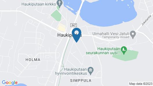 Samantta Hotel & Restaurant Map