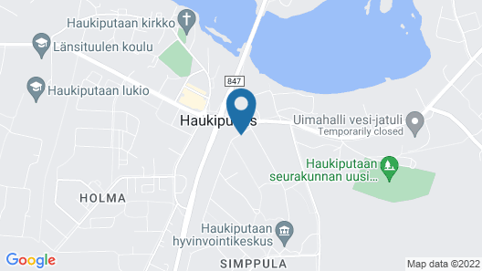 Hotel Samantta Map