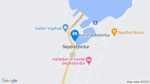 Við Lónið guesthouse Map