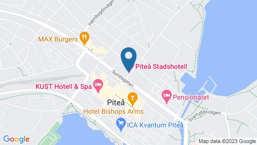 Piteå Stadshotell Map