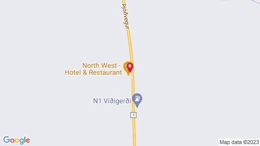 North West Hotel & Restaurant Map