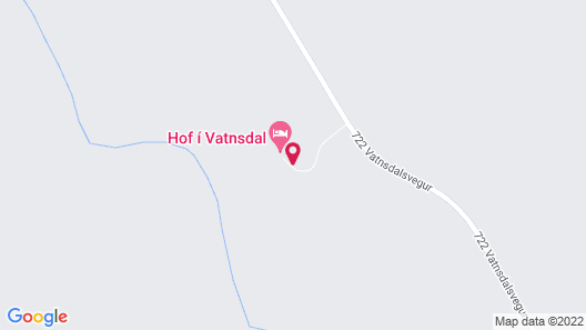 Guesthouse Hof in Vatnsdalur Map