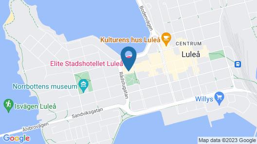 Elite Stadshotellet Luleå Map