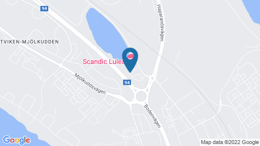 Scandic Luleå Map