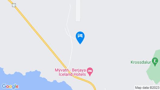 Aska Modern Cabin Map