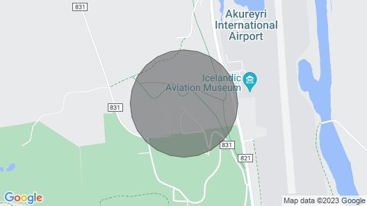 Holiday Home, Akureyri Map