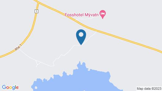 Fosshotel Myvatn Map
