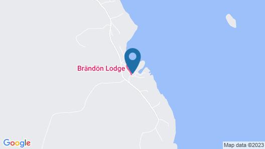 Brändön Lodge Map