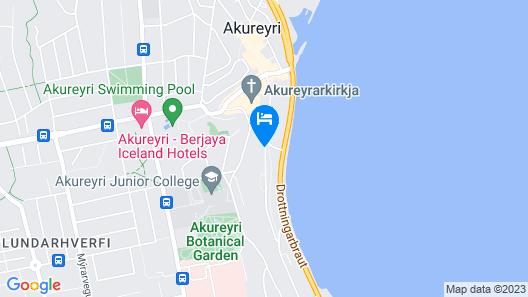 Hotel Akureyri Map