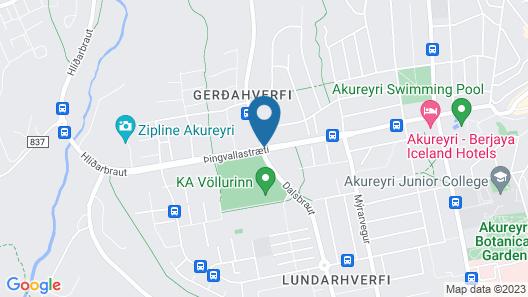 Icelandair Hotel Akureyri Map