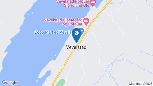 Vevelstad Gjestegård Map