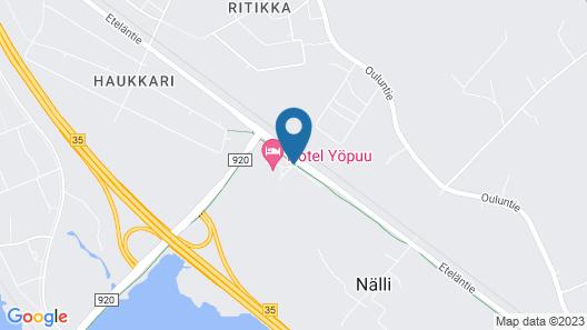 Hotelli Yöpuu Map