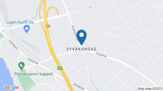 Hotelli Toivola Map