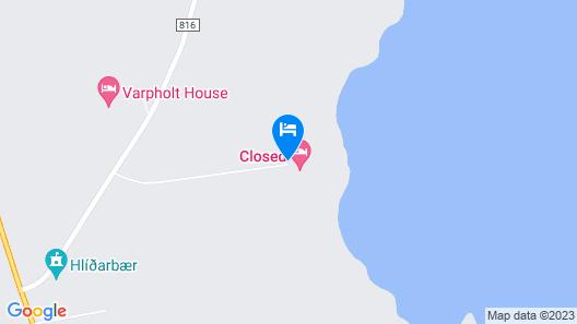 Skjaldarvik Guest House Map