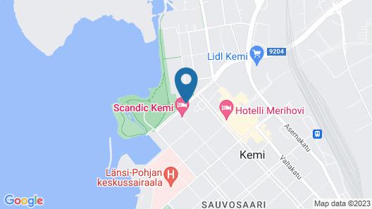 Scandic Kemi Map