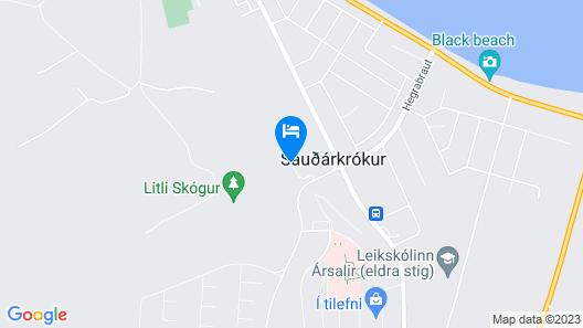 Hotel Mikligardur Map