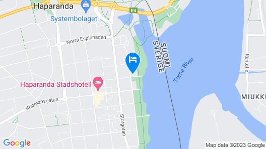 River MOTELL & Vandrarhem Map