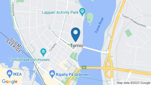 Park Hotel Tornio Map