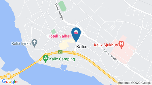 Hotell Valhall Map