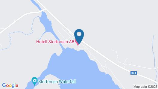 Storforsen Hotell Map