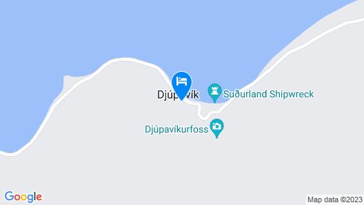 Hotel Djúpavík Map
