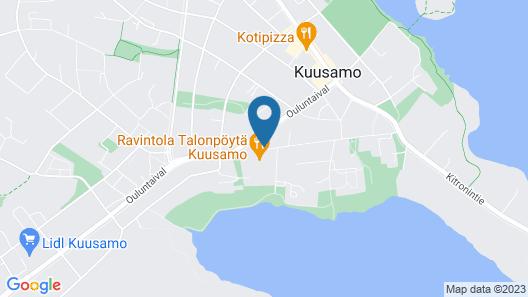 Original Sokos Hotel Kuusamo Map