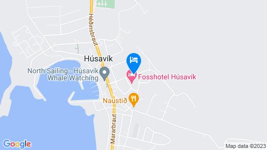 Skjálfandi Map