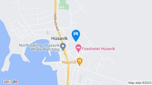 Fosshotel Husavik Map