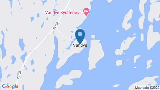 5 Person Holiday Home in Vandve Map