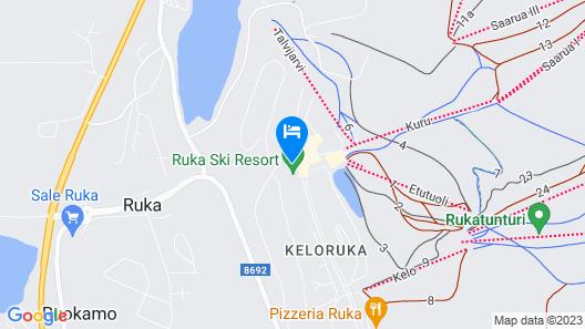 Ski-Inn RukaSuites Map