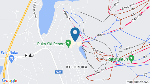 Scandic Rukahovi Map
